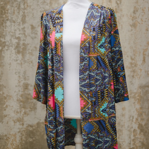 River Island Jackets & Blazers - River Island Patterned Kimono
